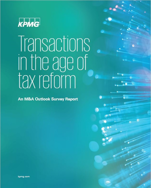 Transactions in the age of tax reform